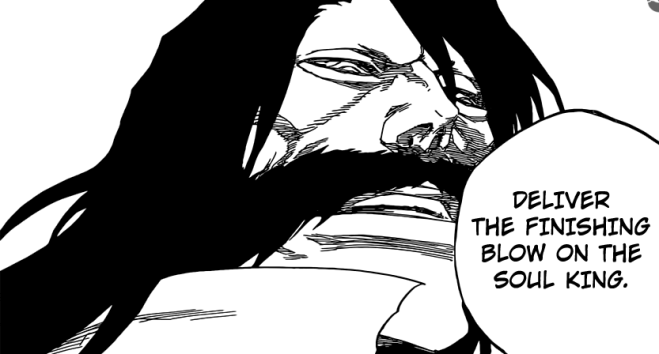 Yhwach Deliver the finishing blow