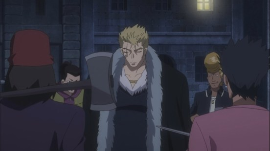 Laxus fights gang