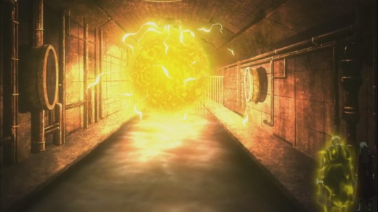 Laxus finds his electricity underneath the city