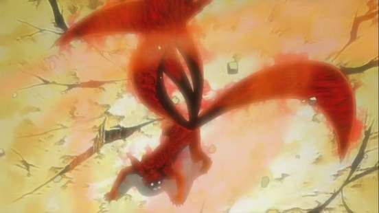 Naruto's Four Tails