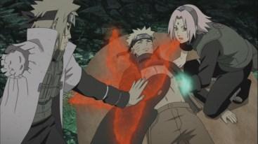 Black Zetsu steals Kurama's Chakra