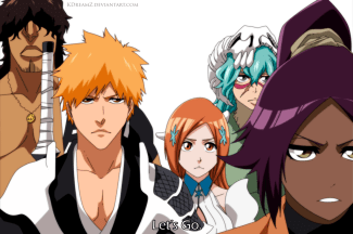 Bleach 627 Ichigo and Others by Kdreamz