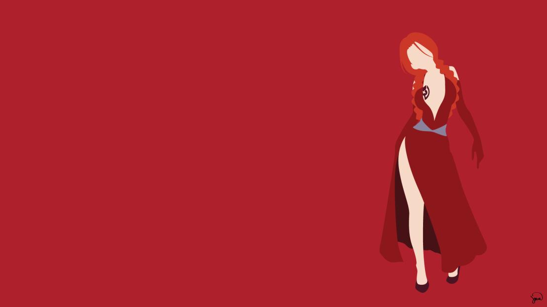 Flare Corona Fairy Tail Minimalistic Wallpaper by greenmapple17