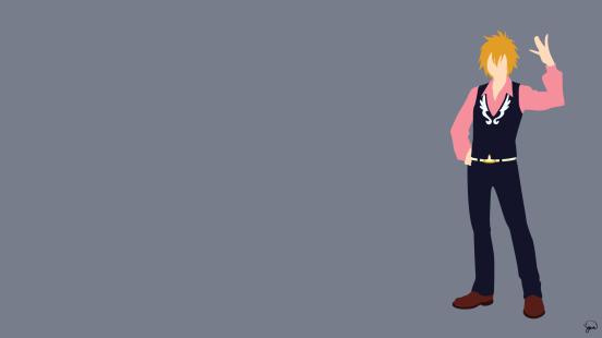Hibiki Lates Fairy Tail Minimalistic Wallpaper by greenmapple17