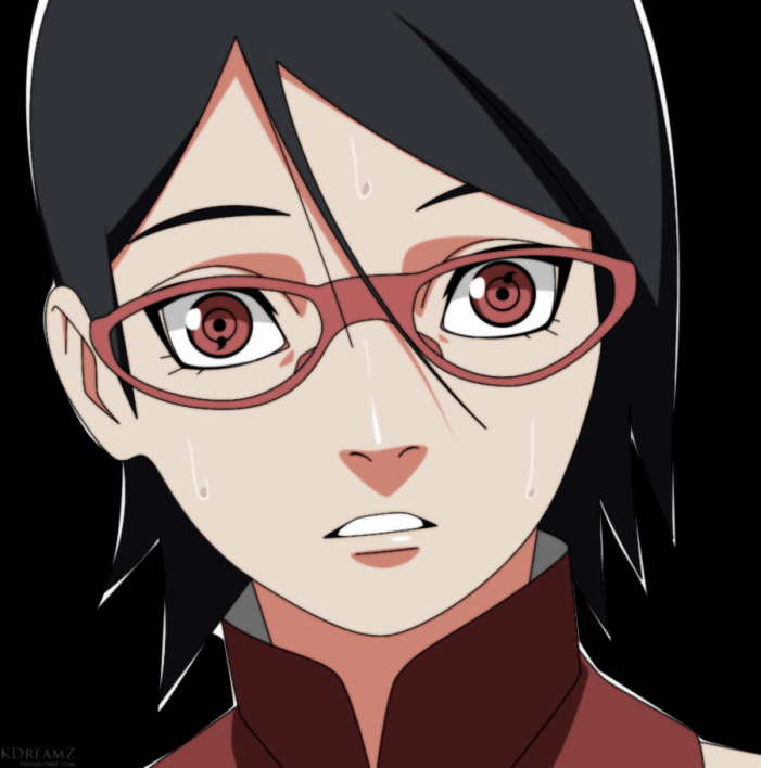 Naruto Gaiden 4 Sarada by kdreamz