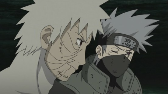 Kakashi Obito work together