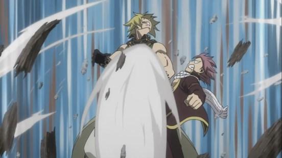 Natsu kicks Jackal