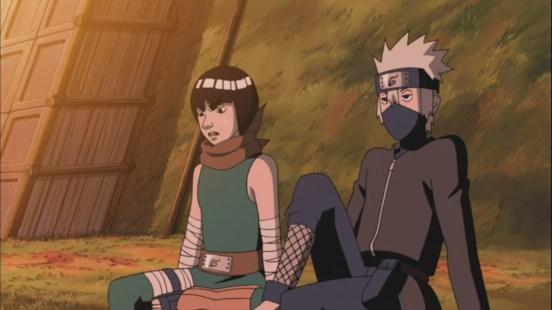 Kakashi and Guy