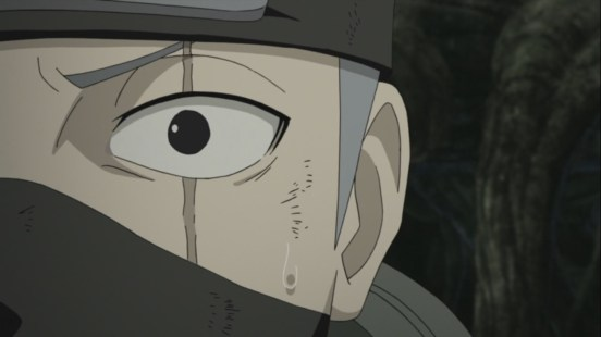 Kakashi regains original left eye