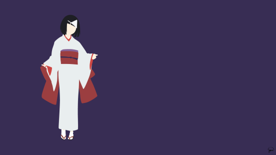 Nora Noragami Minimalist Wallpaper by greenmapple17