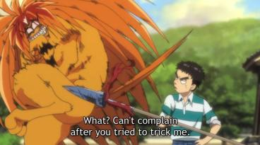 tora scared of ushio spear