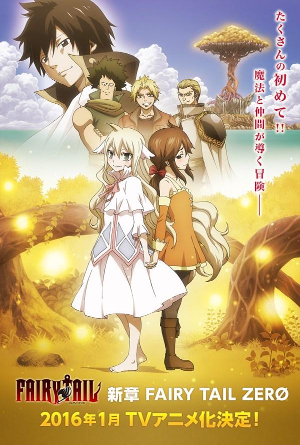 Fairy Tail Anime Announced Daily Art