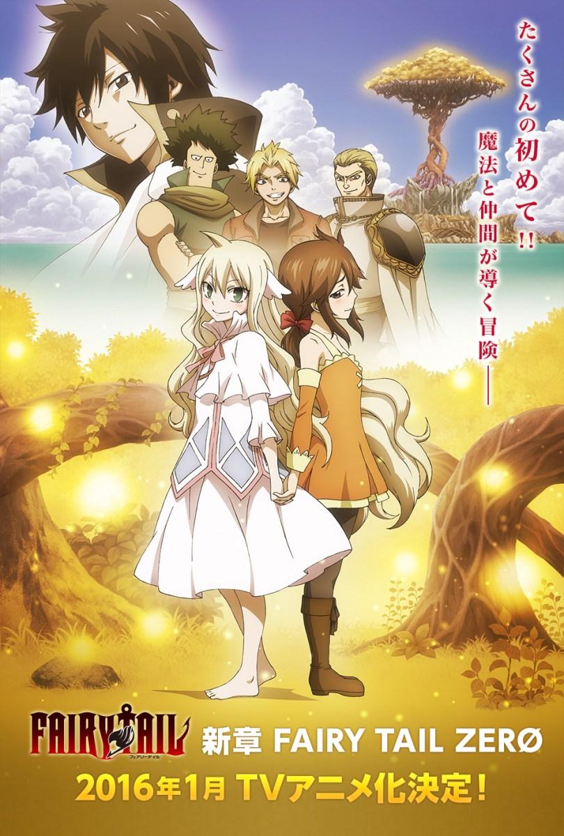 Anime Fairy Tail Zero