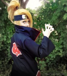Naruto Cosplay Deidara by Floeur