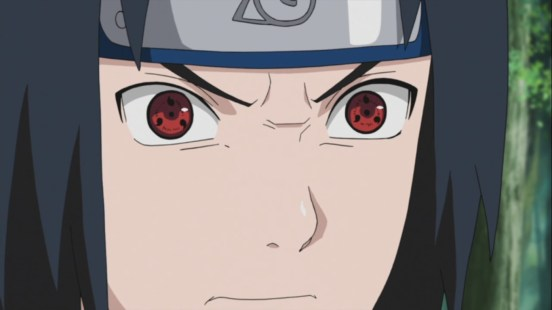 Sasuke develops Sharingan