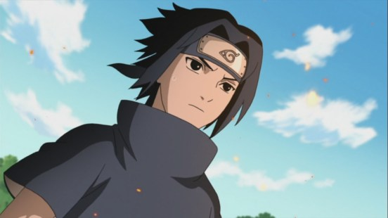 Sasuke faces danger