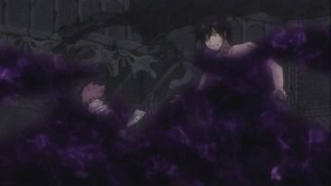 Natsu and Gray stuck