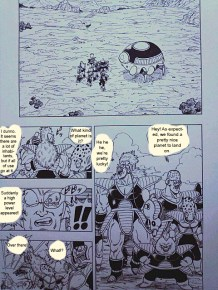 One Punch Man x Dragon Ball 3