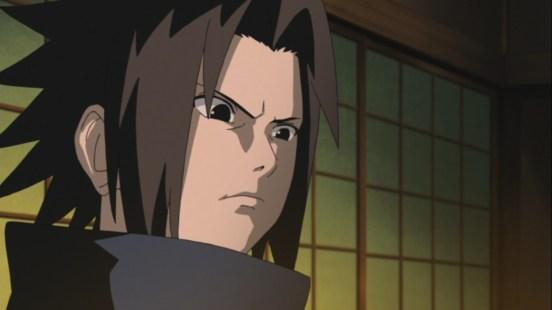 Sasuke stands up
