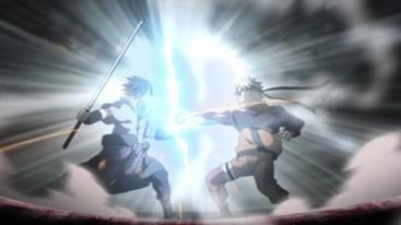 Naruto vs Sasuke Rasengan vs Chidori
