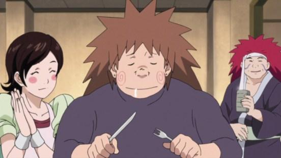 Choji's eating food dream