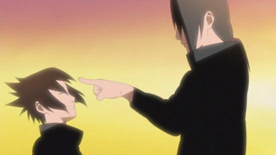 Itachi and Sasuke head