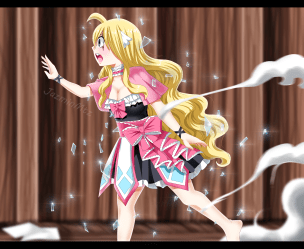 Fairy Tail 494 Mavis by jazminmtz