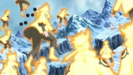 Naruto fights Kaguya