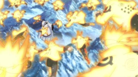 Naruto Uzumaki Barrage