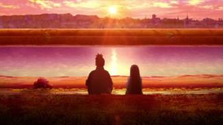 Hinata and Iruka talk about Naruto