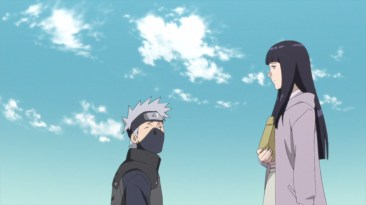 Hinata tells Kakashi that she knows about the mission