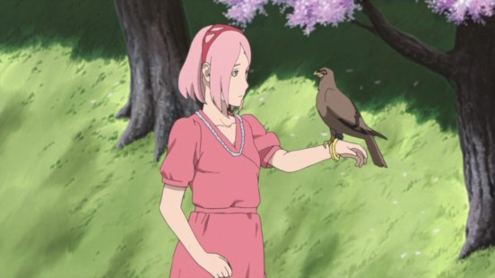 Sakura recieves message from Sasuke