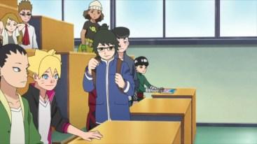 Boruto in class