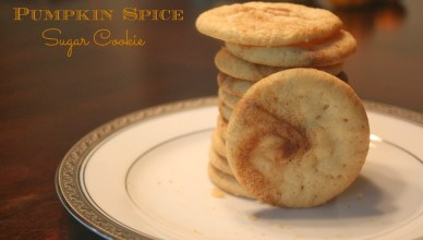 pumpkin spice sugar cookies