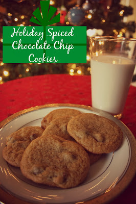 Holiday Spiced Chocolate Chip Cookies 5