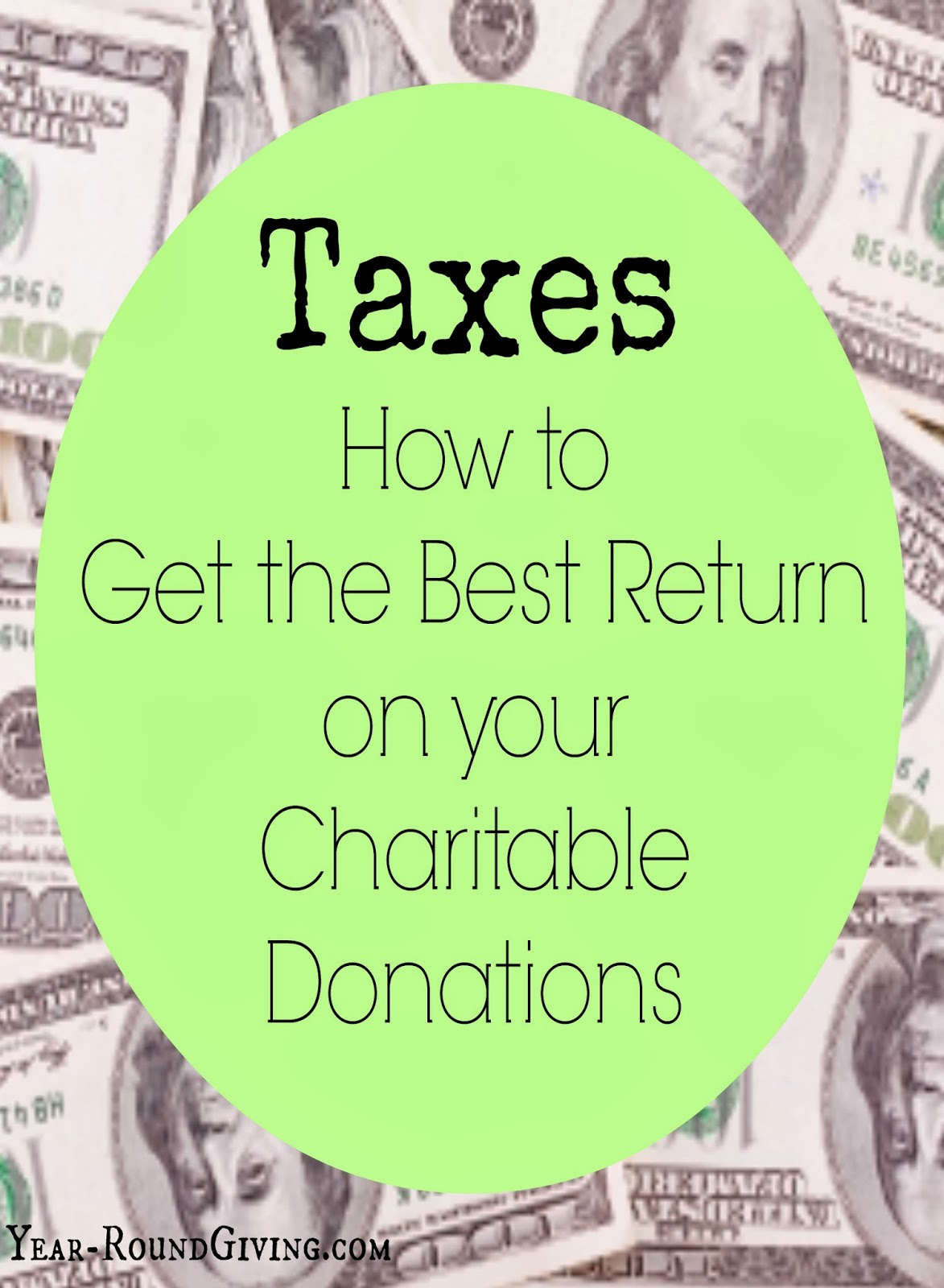 How To Get The Most Out Of Your Charitable Deductions