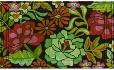 10 Colorful Spring Door Mats 52