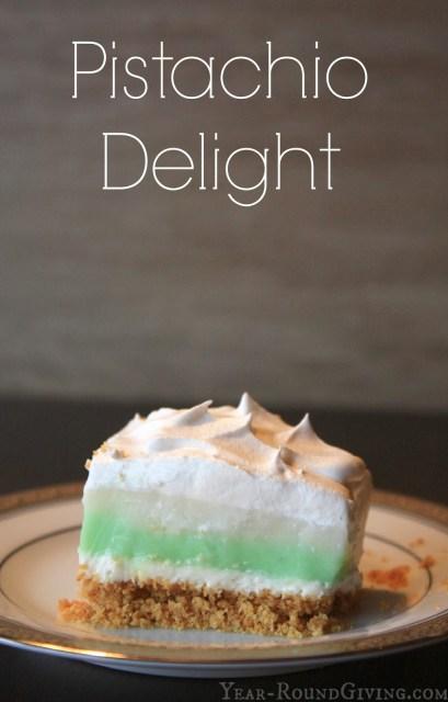 Pistachio Delight Recipe