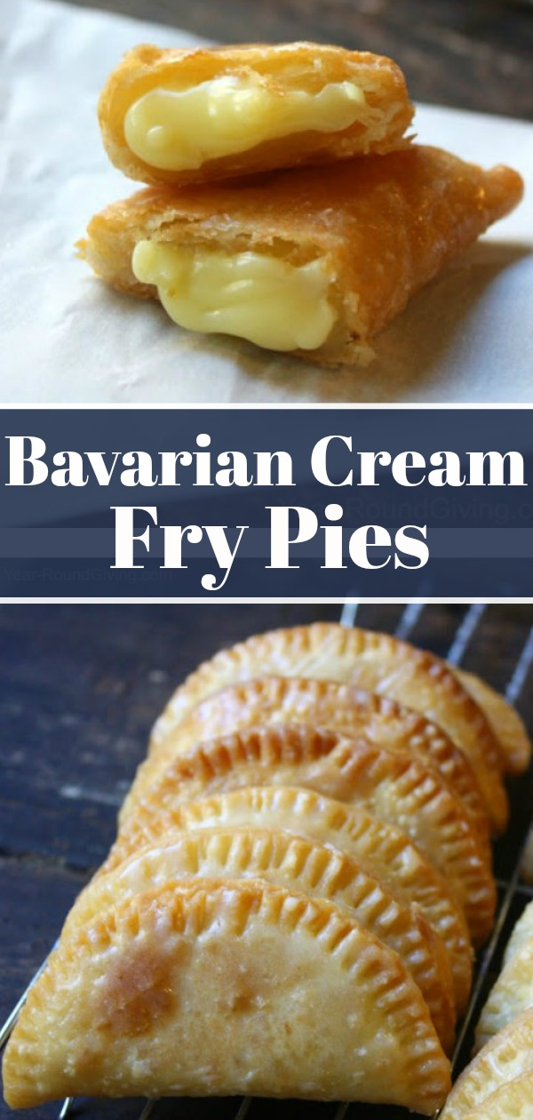 Bavarian Cream Fry Pies