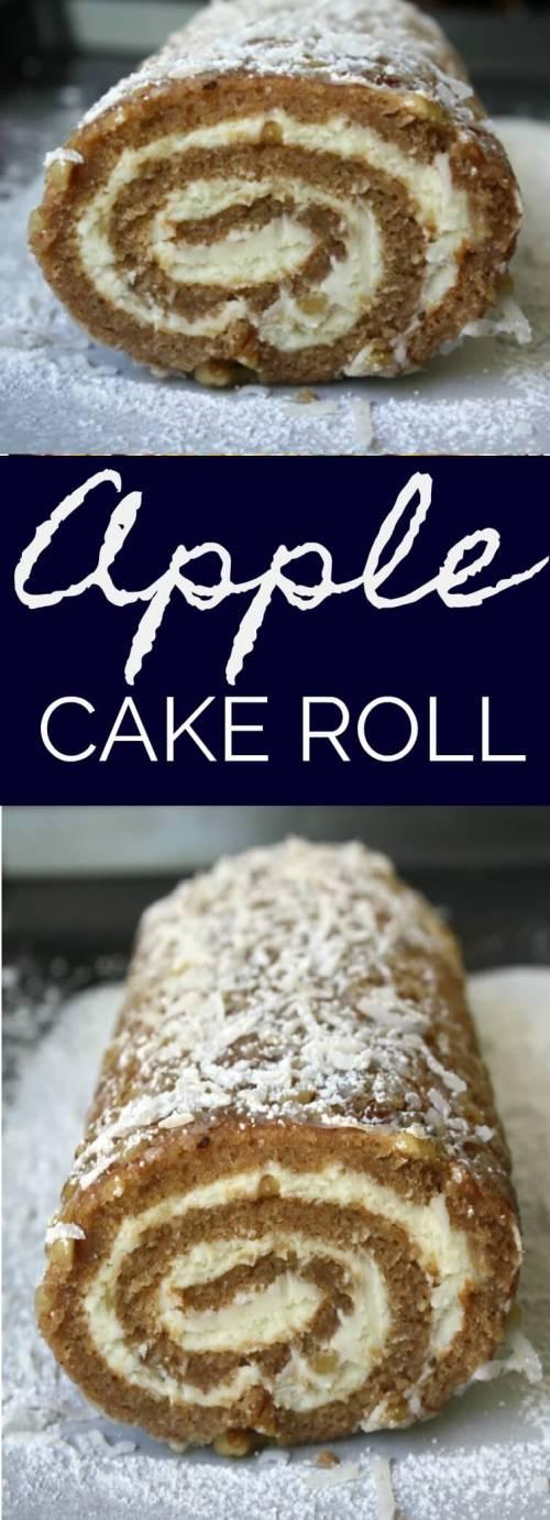 Apple Cake Roll.