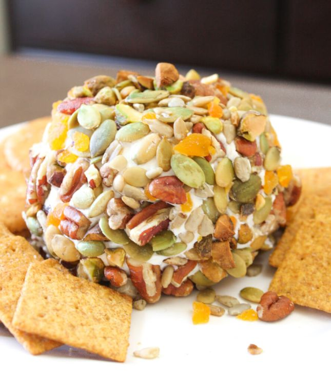 Fall Harvest Cheese Ball Appetizer Recipe