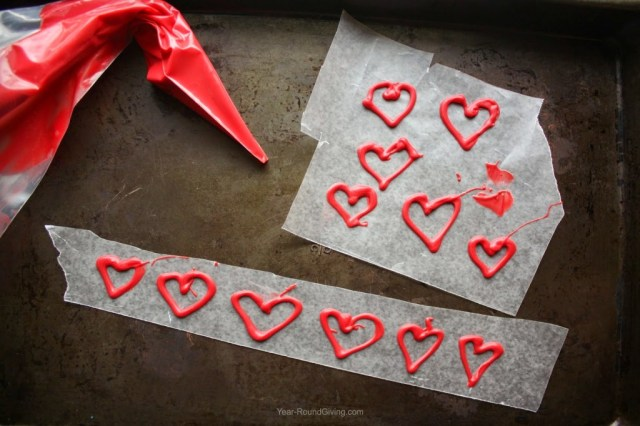 How to make Candy Melt Hearts