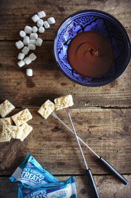 Chocolate Dipped Rice Krispies Treats 13