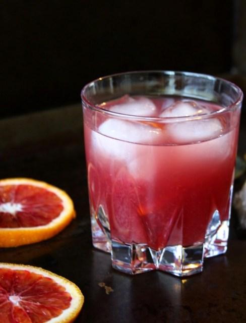 The Blood Orange Cocktail
