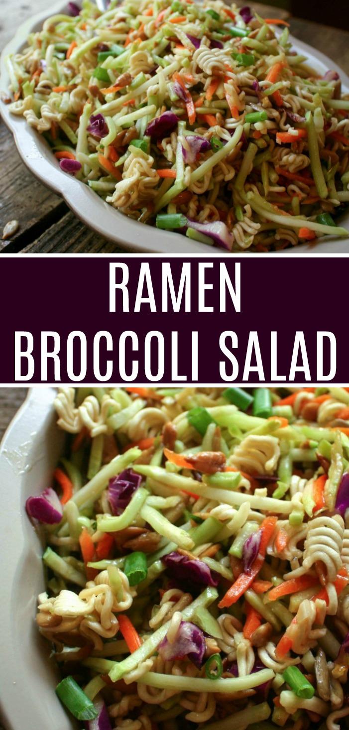 Ramen Broccoli Salad - Daily Appetite