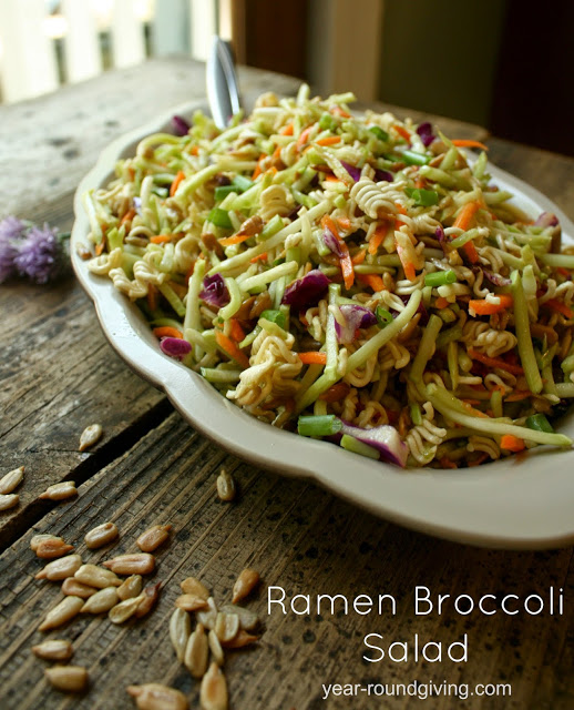 Ramen Broccoli Salad