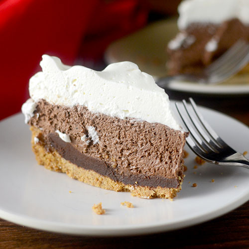 S'mores Mousse Pie by Feed Your Soul Too. Get the Recipe