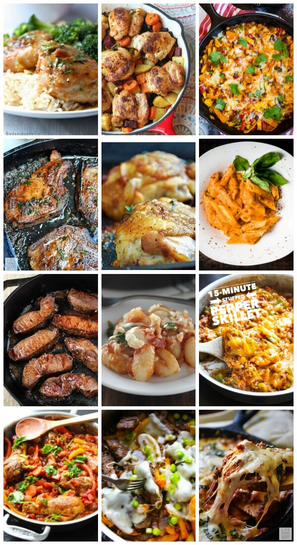 Cast Iron Skillet Dinner Recipes.