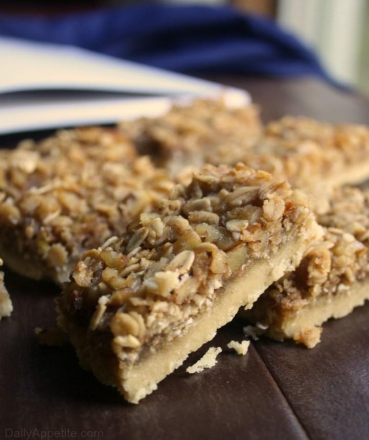 Honey Oatmeal Bars