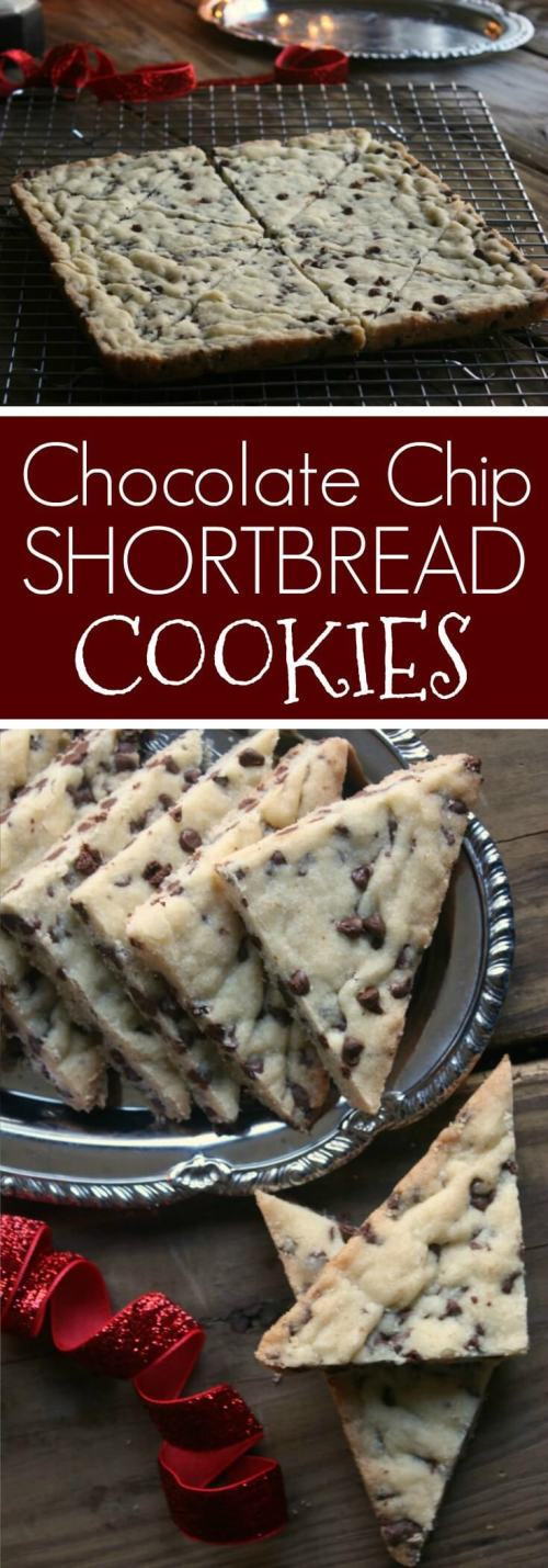Mini Chocolate Shortbread Cookies. Add these to your holiday baking list. Easy to make and taste so good.